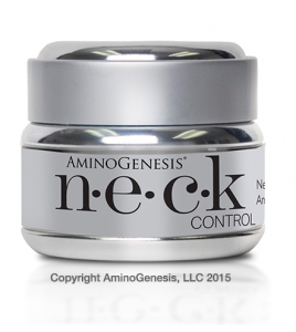 An eye opening pic over Thanksgiving scared me straight to N.E.C.K. Control By Amino Genesis to tone, lift & firm sagging skin under my chin and neck over 30 days without surgery or a chemical peel. The Before & After pics were very convincing.
