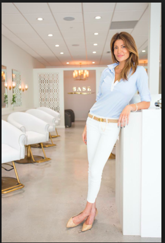 Go Haleh Go! This is the owner and head colorist at Base Color Bar in Brentwood, CA