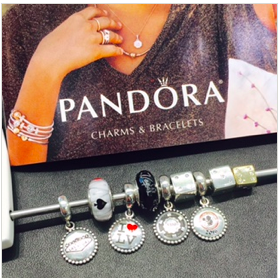 Charmed I'm Sure! Pandora at The Forum Shops has some charms that are Viva Las Vegas special!