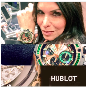 Diamonds are a girl's best friend? I'm editing this to: Diamond Hublot Watches are!