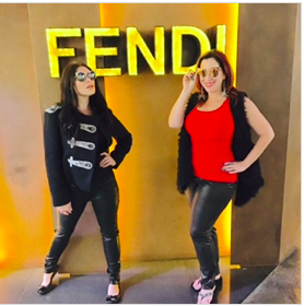 Fendi Spring 2016 Sunnies kinda stole the show on our Forum Shop adventure!