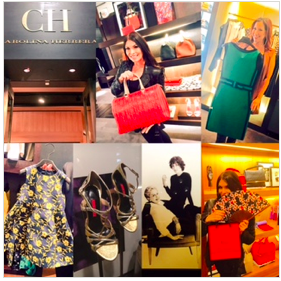 Shopping at CH Carolina Herrera was sorta being in the comfort of my own living room! That's the feel they're going for.