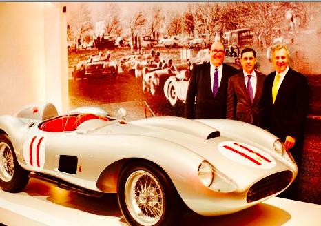 A 1957 Ferrari Testa Rossa